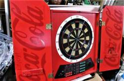 Super Rare Antique Retro Coca Cola Dart Board Used Goods
