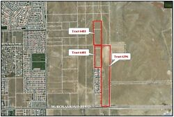 Approval for 130 home sites. 32.96 acres two tracts Rosamond California