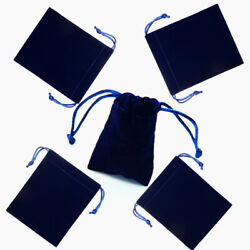 25 50pcs Drawstrings Velvet Bags for Jewelry Gift Wedding Favors Candy Bags $18.99