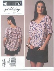 Vogue Sewing Pattern 1247 Designer Rachel Comey Skirt Top Misses Size 12 To 16