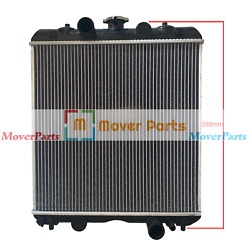590mm Height, Radiator 3a151-17100 For Kubota M6800 M8200 M8200dt M9000 M9000dt