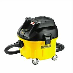Dewalt 1400w 30l L Class Wet And Dry Dust Extractor Vacuum - Usa Brand