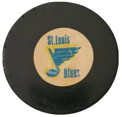 St. Louis Blues Nhl Approved Official Game Puck Rare Viceroy Mfg. Vintage 🇨🇦