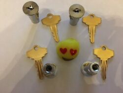 4 Lock And Key Sets For Oak Northwestern And Most Gumball Vending Machine Model