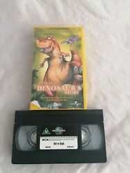 Weand039re Back - A Dinosaurand039s Story Vhs Video Tape