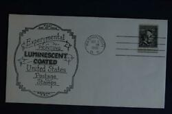 Abraham Lincoln Luminescent Coated 4c Stamp Fdc Abc Boerger Sc1282a 07075 Dc