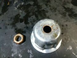Briggs And Stratton 3.5 - 4.5 Hp Motor Engine Starter Cup Push Lawn Mower Nut Used