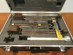 Emco Adjustable Dipole Antenna Catalog No. 3120 B3 In Nice Padded Case