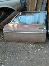 1968 - 1972 Chevrolet Chevy Nova Ss Driver Door Complete Made In Usa