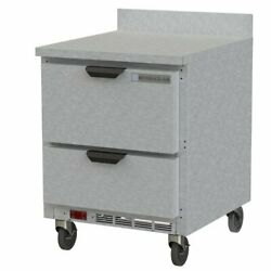 Beverage Air Wtrd27ahc-2 27 Work Top Refrigerated Counter