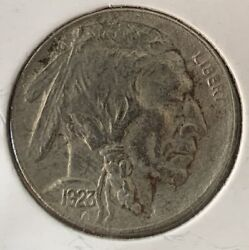 1923 S Buffalo Nickel Au Details About Uncirculated