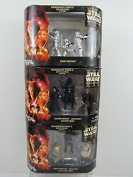 Star Wars Rots Commemorative Dvd Collection Complete 1-3 Hasbro 2005 Pg190b