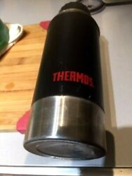 The Thermos Company Classic Antique Old Insulated Water Flask Stainless Steel 1q