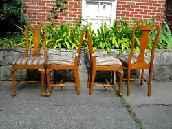 Grand Ledge Chair Co. Queen Anne Style Chairs