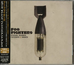 Foo Fighters Echoes Silence Patience And Grace Cd Album Cdlp Japanese Promo