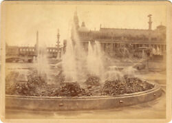 1893 Columbian Expo: Electrical Fountains & Machinery Hall