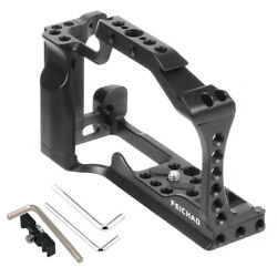 Bgning Camera Cage For Canon M50 M5 Top Handle Quick-rease Plate Cold Shoe Mount