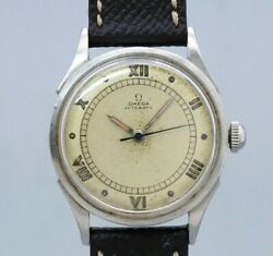 Omega 3hands Ref.2438-2 Original Dial Automatic Vintage Watch 1940's