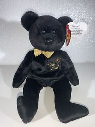 Ty Beanie Baby The End Bear - Retired With Errors - Excellent Condition 1999.