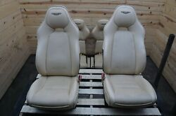 Set Of 8 Front Rear Left Right Seat Winter Wheat Aston Martin Rapide S 2013-18