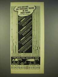 1938 South Bend Fishing Rods Ad - 12 24 29 57 16 215 +