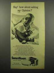1944 Sweetheart Soap Ad - How About My Opinion