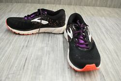 **Brooks Glycerin 17 1202831D059 Running Shoes Women's Size 7D BlackCoral $56.25