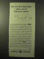 1964 General Electric Ne-83 Glow Lamp Ad - Reduces Cost