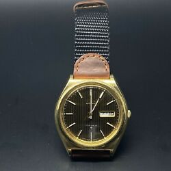 Seiko Dx 17 Jewel Watch 6106-7879stainless Steel Automatic Made In Japan 1975