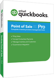 Quickbooks Point Of Sale 19.0 Pro With Hardware Bundle In White