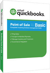 Quickbooks Point Of Sale 19.0 Basic With Hardware Bundle In White