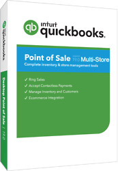 Quickbooks Point Of Sale 19.0 Multi-store With Hardware Bundle In Black
