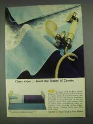 1967 Cannon Vanity Rose Sheets Ad - Come Close
