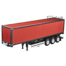 1/14 Rc Hercules Diy 40ft Container Chassis Semi Tractor Trailer Truck Painting