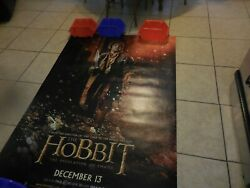 Double Sided Large Movie Poster The Hobbit With Gratiana Lovelace 70 X 49