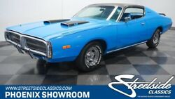 1972 Dodge Charger  V8 Auto Classic Vintage Collector Mopar Blue A727 Records Restored Holley