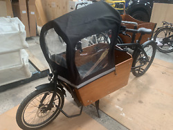 Electric Cargo Bike 2 Wheel High Torque Motor 2 Boxes For Kids And Food Delivery