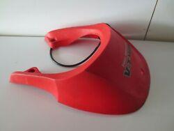 2010 Kawasaki Brute Force 750 4x4 Atv Red Front Plastic Nose Hood Piece
