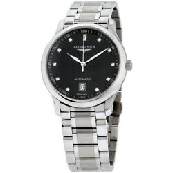 Longines Master Collection Automatic Movement Black Dial Menand039s Watch L26284576