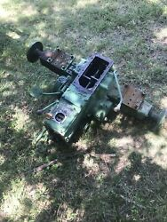 John Deere 850 Tractor Transmission Rearend Locking Differential Rear Axles