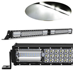 40inch 2160w Led Work Light Bar Straight Truck Offroad Atv Suv For Jeep Fog Lamp