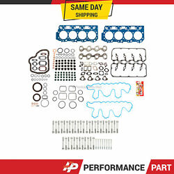 Full Gasket Set 0.037 Thick Head Bolts Fit 04-10 Chevrolet Duramax Gm 6.6l