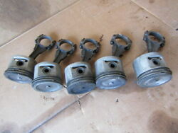 Jeep 225 Connecting Rods Pistons Dauntless 225 V6 Buick Oem