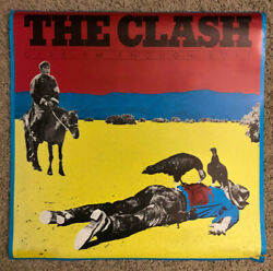 The Clash - Give And039em Enough Rope - Original Vintage Rare Poster 23x23