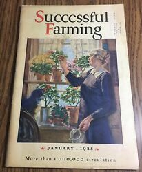 Successful Farming Magazine January, 1928. Very Good Condition, Vintage Ads