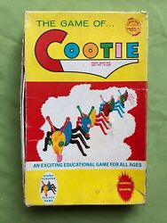 1949 Cootie Dice Game 200 Schaper Rare Box Mark-see Dunce Auction Too Christmas