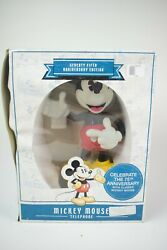 75th Anniversary Mickey Mouse Animated Talking Telephone Disney Phone Kng 2004