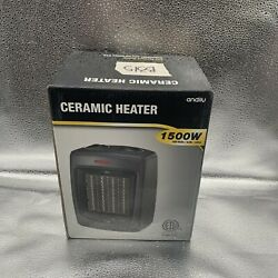 Andily Space And Electric Heater For Home And Office Ceramic Small Heater B88