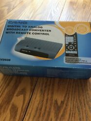 CRAIG DIGITAL TO ANALOG BROADCAST WITH REMOTE CONTROL NEW IN BOX
