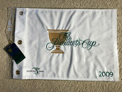 New Official The Presidentand039s Cup 2009 Harding Park Golf Flag Pga Pin Cup Sf Ca